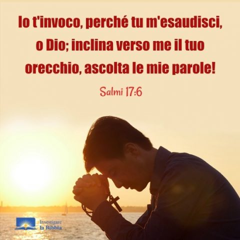 lui prega a Dio, lode a Dio