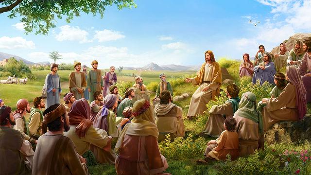 Il Signore Gesù, che è incarnato, vive sulla terra con le persone