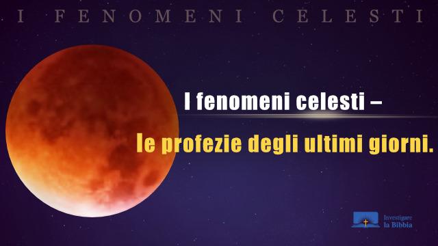 una luna, le profezie degli ultimi giorni.