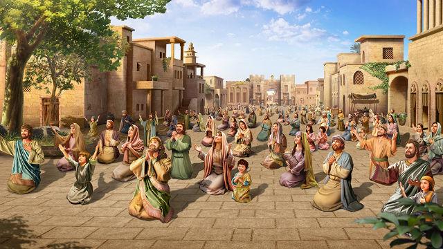 Jahve' Dio perdona la città di Ninive