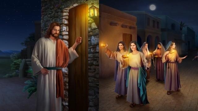 In che modo le vergini sagge ascoltano la voce di Dio e accolgono il Signore?