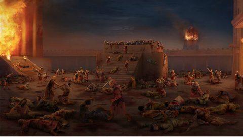distruzione del tempio