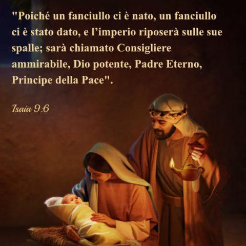 La nascita di Gesù nella mangiatoia di Bethlehem
