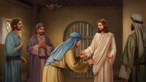 Gesù appare a Tommaso