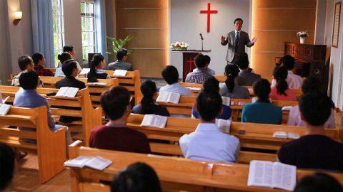 I cristiani discutono l'immagine del Signore quando ritorna