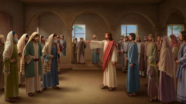 Signore Gesù con i farisai