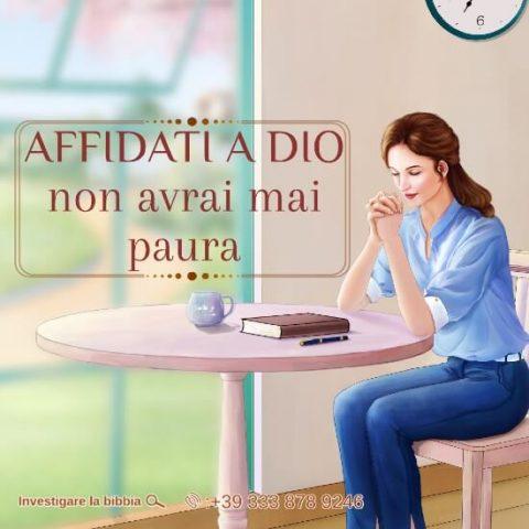 Affidati a Dio