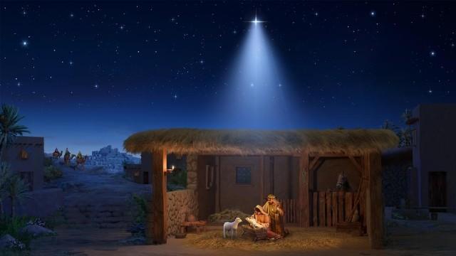 Signore Gesù Cristo nacque mangiatoia