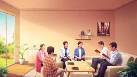 Cristiani che discutono il modo in cui viene il Signore insieme