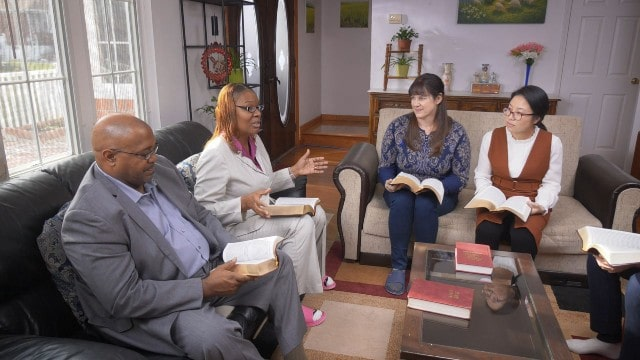 Cristiani alla riunione