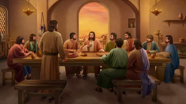 Il Signore Gesù vive con gli apostoli