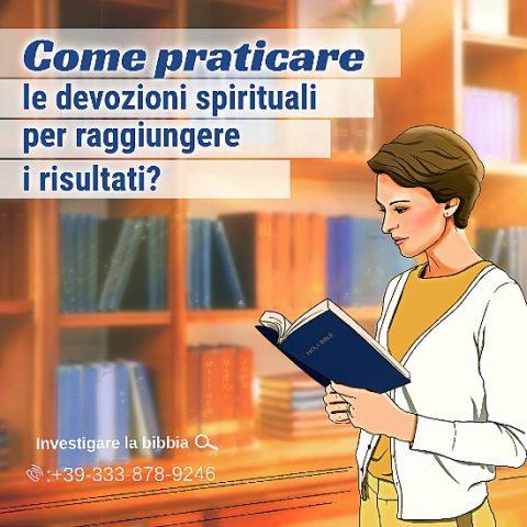 Come praticare le devozioni spirituali per raggiungere i risultati