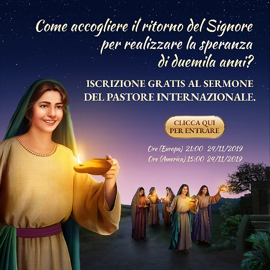 Iscrizione gratis al sermone del pastore internazionale.