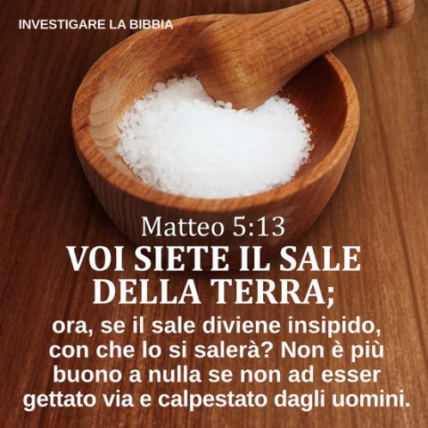 Matteo 5:13