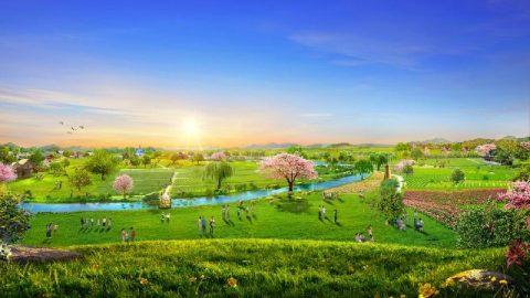 Il Regno dei Cieli è in realtà sulla terra