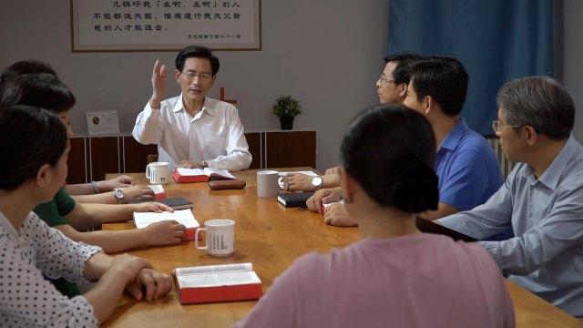Durante un incontro di collaboratori