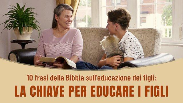 10 frasi della Bibbia sull'educazione dei figli